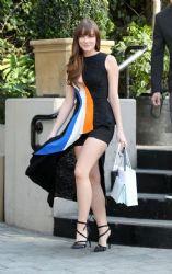 Christa B. Allen wears Christian Dior- Christian Dior La Party