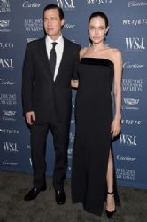 Angelina Jolie & Brad Pitt attends the WSJ. Magazine 2015 Innovator Awards (November 4, 2015)