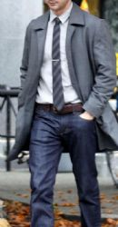 Shia LaBeouf on the set of The Company You Keep, on Tuesday (November 8) in Vancouver, British Columbia, Canada