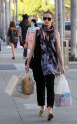 Emily Blunt Goes Shopping in Beverly Hills
