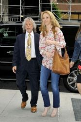 Lisa Kudrow: at Sirius Radio in New York City