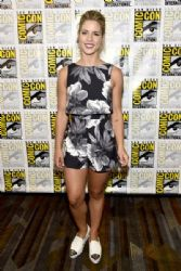 Emily Bett Rickards: Comic-Con International 2016 - 'Arrow' Press Line