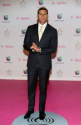 Christian Meier: Arrivals at the Premios Lo Nuestro Awards 2015