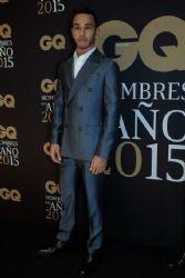 Lewis Hamilton: GQ Hombres del Año Αwards 2015