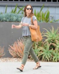 Minka Kelly: out and about in Los Angeles