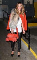Nicole Scherzinger: visit the SiriusXM Radio Studios in New York City
