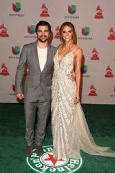 Juanes and Karen Martinez: Green Carpet Arrivals at the Latin Grammy Awards 2014