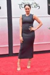 Tia Mowry wears Alexia Ulibarri - 'Teenage Mutant Ninja Turtles' LA Premiere