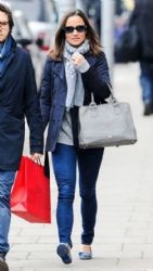 Pippa Middleton wears Lamb - London March 27, 2014