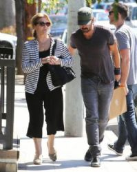 Colin Farrell Takes His Mom Shopping