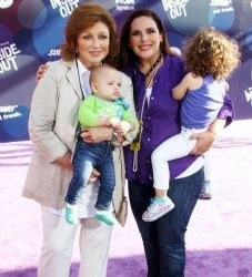 Angelica Vale and family:  movie premiere