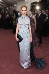 Emily Blunt wears Prada - 2015 Met Gala