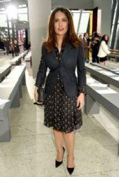 Salma Hayek: London Fashion Week