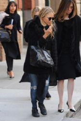 Mary-Kate Olsen: showed up at the Greenwich Hotel in New York City