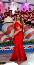 Nicole Scherzinger performs at A Capitol Fourth 2015 Independence Day Concert