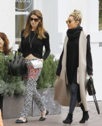 Ashley Tisdale and Ashley Greene: lunch at Olive & Thyme in Toluca Lake