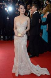 Yunjin Kim at 2012 Cannes Film Festival