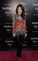 Shenae Grimes: showed up at the US Launch of BooHoo in New York City