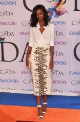 Liya Kebede wears Wes Gordon - 2014 CFDA fashion awards