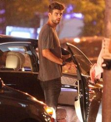 Gerard Pique: LA by night