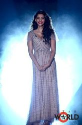Sonam on Simi Selects India's Most Desirable Show wearing shehla k design