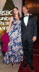 Dolores Barreiro and Matias Camisani : UNICEF Gala in Argentina