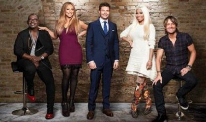 Randy Jackson, Nicki Minaj, Keith Urban, Mariah Carey and Ryan Seacrest: graced the latest cover of The Hollywood Reporter magazine
