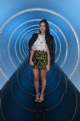 Olivia Munn: attends the Samsung Galaxy S 6 edge launch in Los Angeles