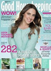 Melanie Chisholm: August 2012 issue of Good Housekeeping magazine