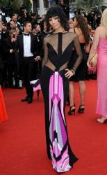 Bai Ling wears Emilio Pucci - Jimmy P. Psychotherapy of a Plains Indian 2013 Cannes Film Festival