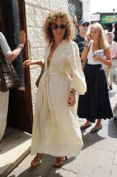 Valeria Golino At Harry's Bar in Venice
