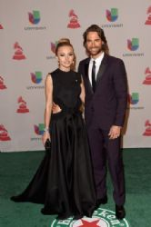 Angelique Boyer and Sebastian Rulli: Green Carpet Arrivals at the Latin Grammy Awards 2014
