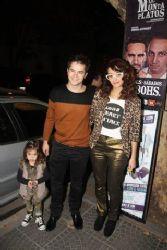 Felipe Colombo, Cecilia Coronado and Aurora: theater premiere