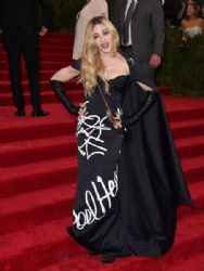 Madonna wears Moschino - 2015 Met Gala