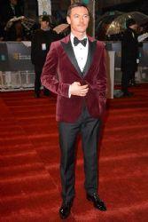 Luke Evans: 2013 Orange British Academy Film Awards (BAFTA) took place in Londo