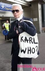 Lagerfield's new bag