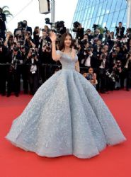 Aishwarya Rai Bachchan in Michael Cinco Dress