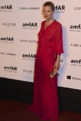 Kate Moss attends at amfAR's Inspiration Gala Sao Paulo