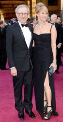 Steven Spielberg and Kate Capshaw: 85th Annual Academy Awards