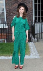 Tali Lennox wears Alice by Temperley - Fashion Rules Exhibit