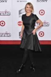 Cameron Diaz wears Christian Dior - 'Annie' World Premiere