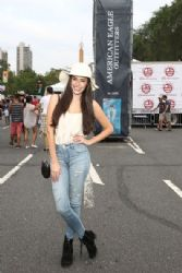 Actress Chloe Bridges and American Eagle Outfitters Celebrate the Budweiser Made in America Music Festival on August 30, 2014 in Philadelphia, Pennsylvania