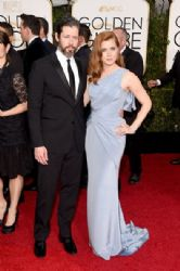 Darren Le Gallo and Amy Adams : 72nd Annual Golden Globe Awards 2015- Arrivals
