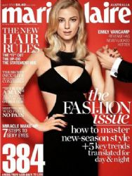 Emily VanCamp: April 2013 issue of Marie Claire Australia