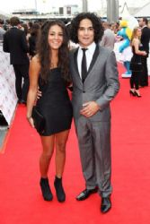 Reece Ritchie, Michelle Keegan attends the National Movie Awards 2011 at Wembley arena on May 11, 2011 in London, England
