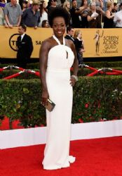 Viola Davis: 21st Annual Screen Actors Guild Awards - Arrivals