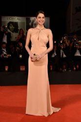 Moran Atias wears Emilio Pucci - 'The Humbling' Venice Film Festival Premiere