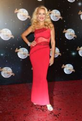 Jerry Hall Strictly Come Dancing 2012