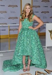 Willow Shields wears Christian Siriano -