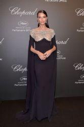 Adriana Lima in Reem Acra  Dress